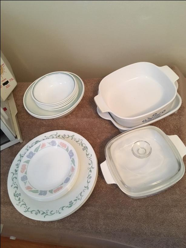 Corningware and Corelle odds n ends