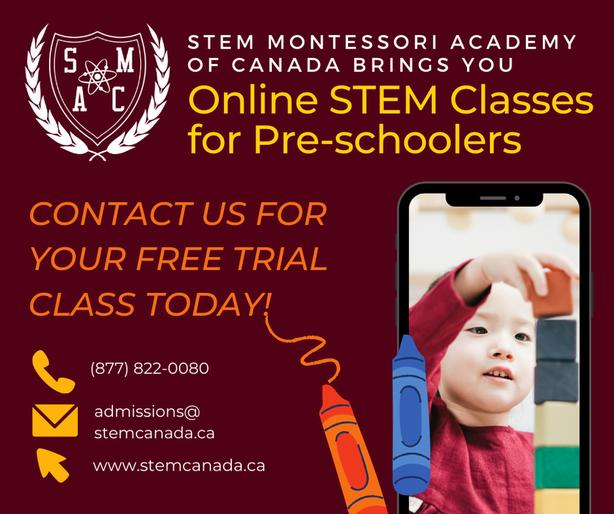 FREE 1-hour Online class for Pre-schoolers (2-3 yrs)!