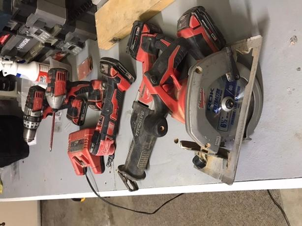 Milwaukee cordless set