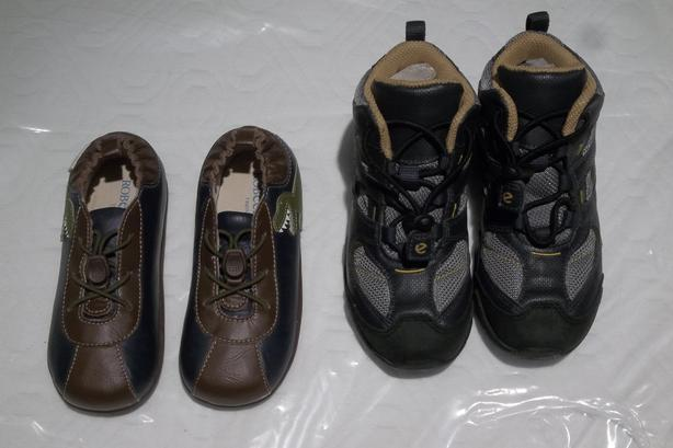 ECCO STRIDER Boy's shoes and Robeez Treds