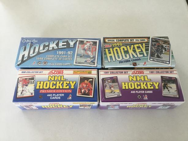 FACTORY SEALED HOCKEY SETS FOR SALE