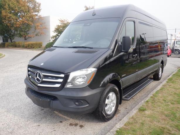 2015 Mercedes-Benz Sprinter 2500 12 Passenger Van High Roof 170-inch Wheelbase D