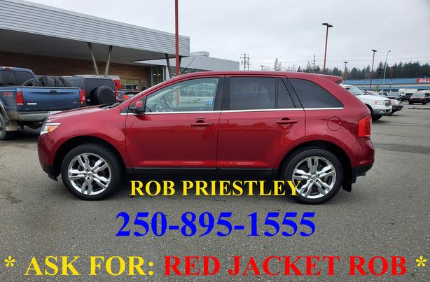 2013 FORD EDGE LIMITED AWD * ask for RED JACKET ROB *
