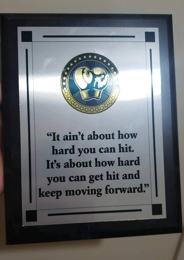 motivational plaque  Best Birthday gift for a guy