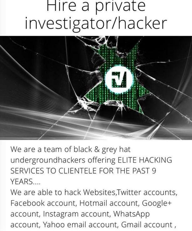 Investigator/Hacker