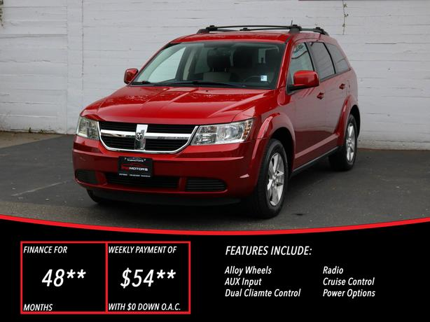 2009 Dodge Journey SXT - LOCAL BC SUV - NO ACCIDENTS!