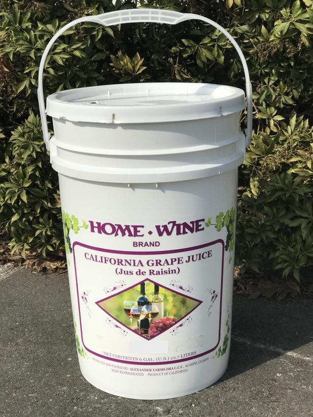 California Wine Grape Juice Available