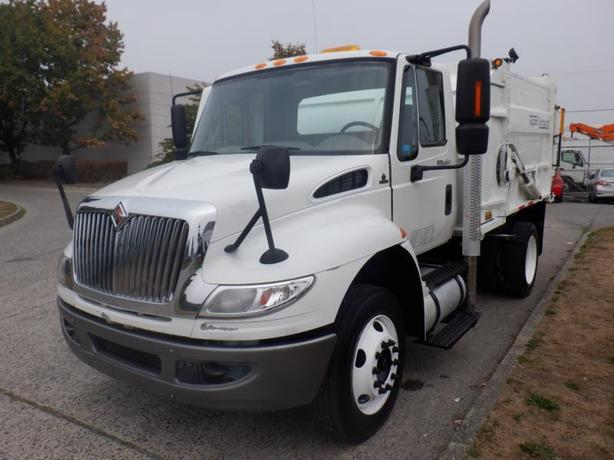 2013 International 4300 Recycling Garbage Truck Diesel with Air Brakes