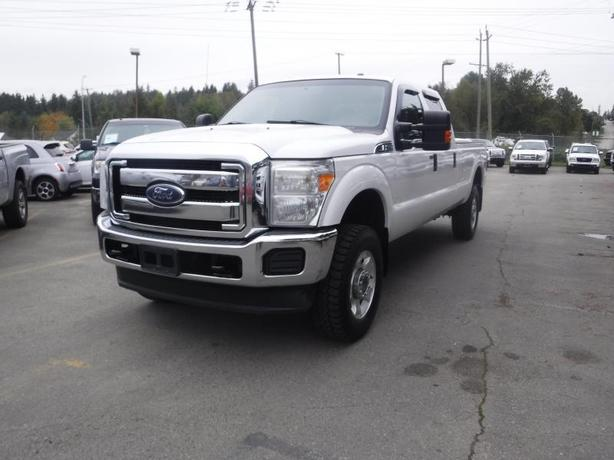 2013 Ford F-350 Sd XLT Crew Cab 8 Foot Long Box 4WD