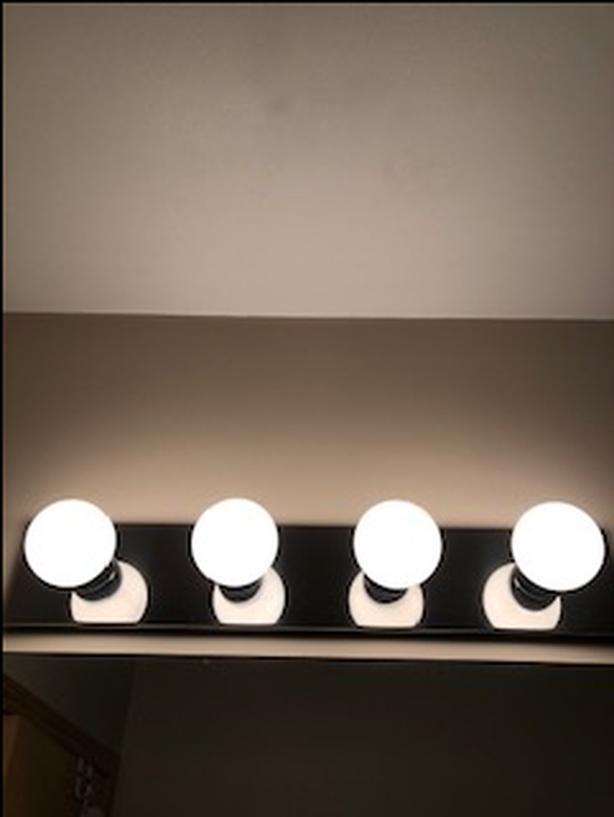 Chrome Vanity light