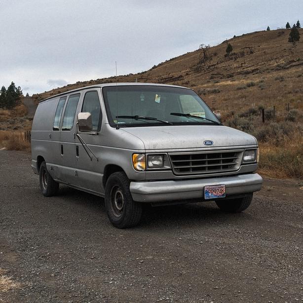 Van Ford E-150