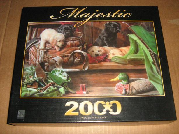 MAJESTIC  2000  PIECES  JIGSAW  PUZZLE