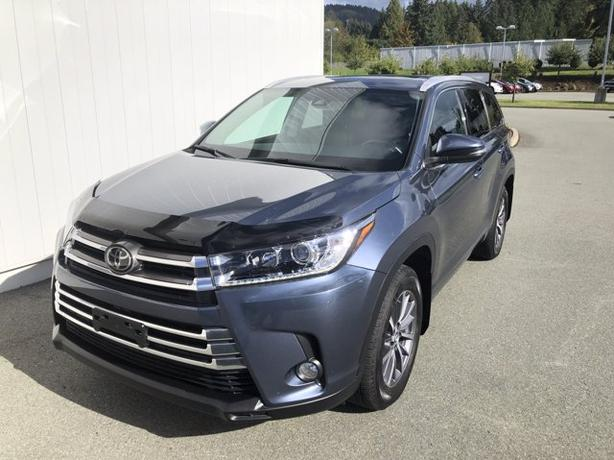Certified Pre-Owned 2018 Toyota Highlander XLE AWD Sport Utility