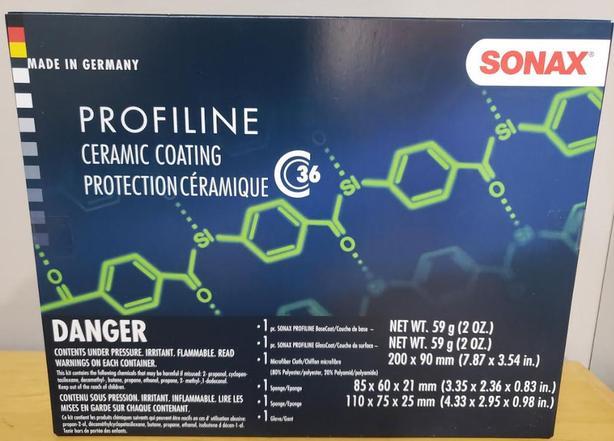 SONAX Automobile Ceramic Coating Kit