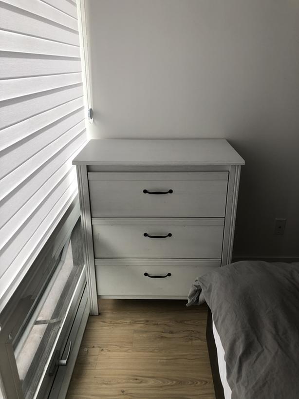 White dresser for sale