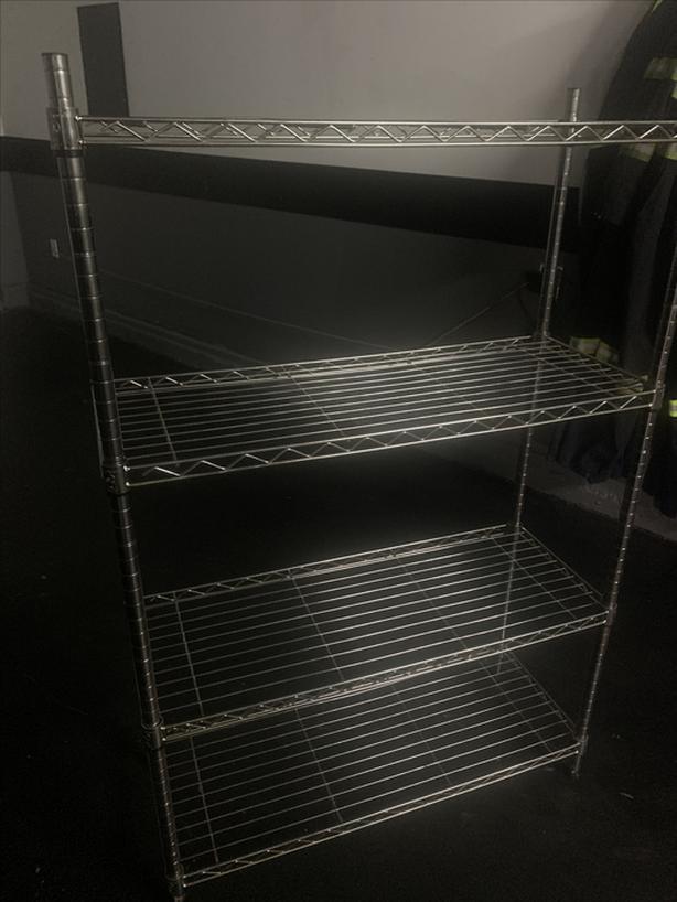 Stainless shelf