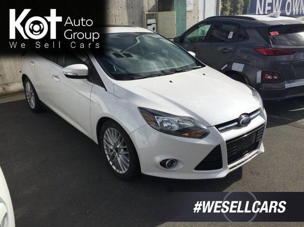 Pre-Owned 2014 Ford Focus Titanium Front Wheel Drive Hatchback