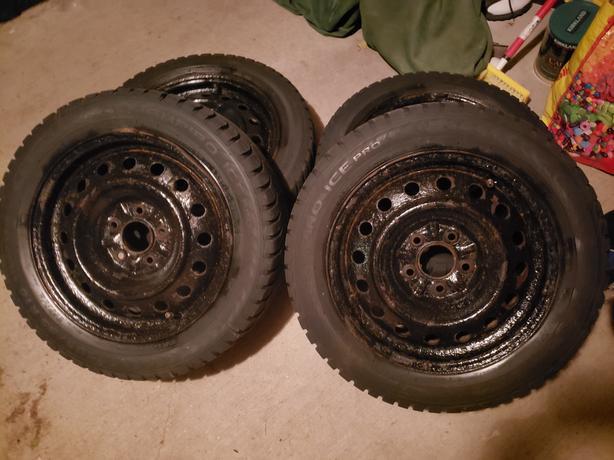 winter tires on rims Champiro Ice Pro 205/55/R16