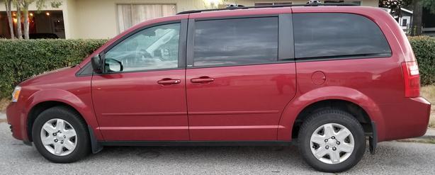 Dodge Grand Caravan SE DVD Back Up Camera