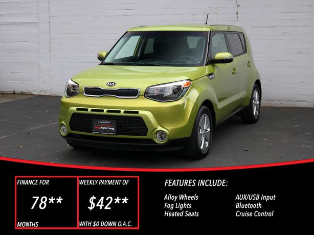 2014 Kia Soul LX+  - LOCAL BC SUV - NO ACCIDENTS!