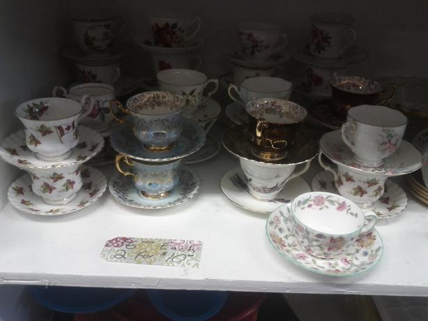 Collectable Tea Cups and Saucers