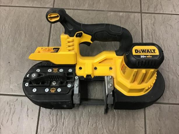 Dewalt cordless  band saw