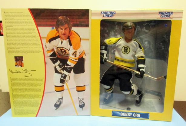 BOBBY ORR (HOF) FIGURE - BOOK - PICTURE FRAME – MINI-MUG