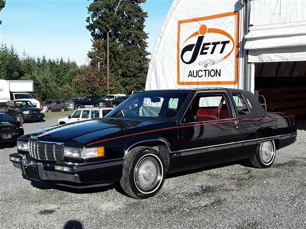1991 CADILLAC FLEETWOOD LIVE FOR AUCTION!