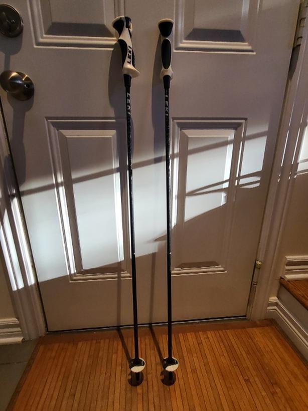 """Leki clip-in ski poles-40"""" (100cm)"""