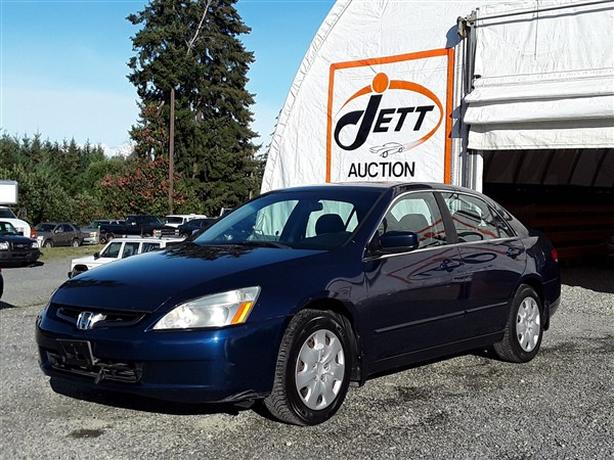2003 HONDA ACCORD LX LIVE FOR AUCTION!