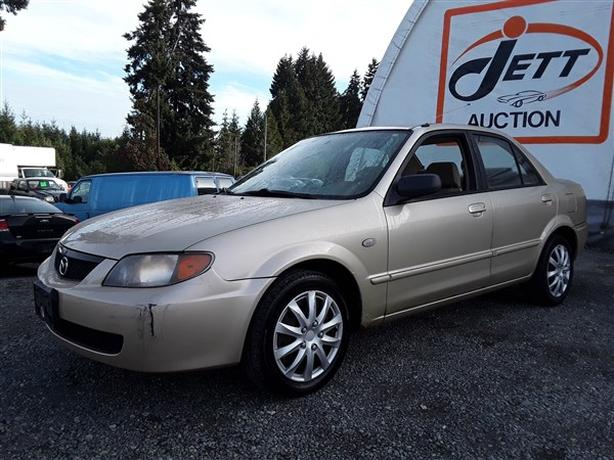 2003 MAZDA PROTEGE DX LIVE FOR AUCTION!
