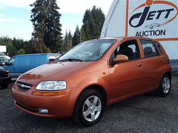 2005 CHEVROLET AVEO LIVE FOR AUCTION!
