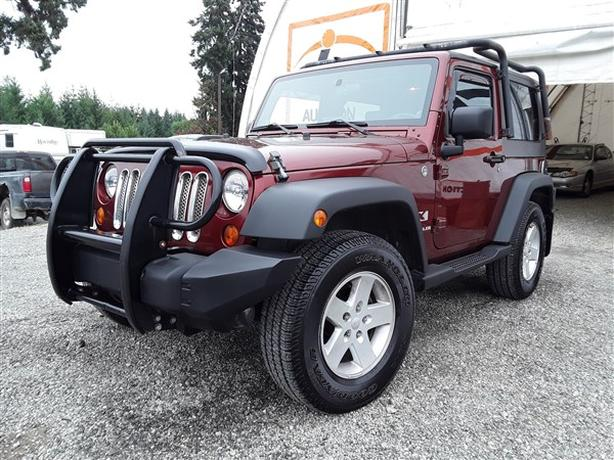 2007 JEEP WRANGLER LIVE FOR AUCTION!
