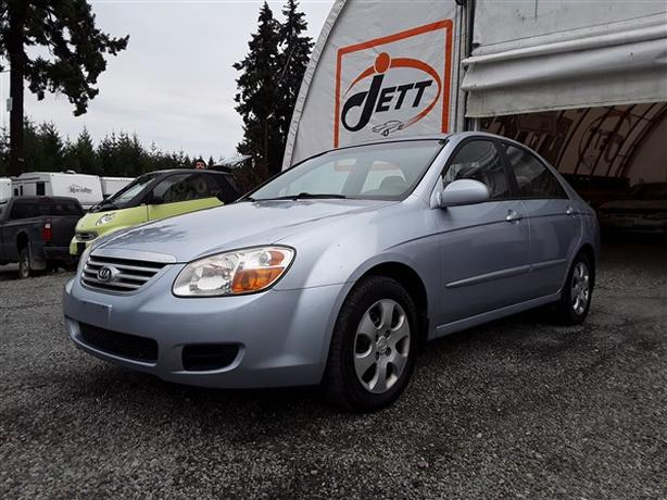 2007 KIA SPECTRA LIVE FOR AUCTION!