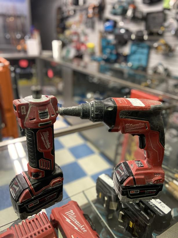 Milwaukee drywall combo router and screwgun M18 fuel 5.0