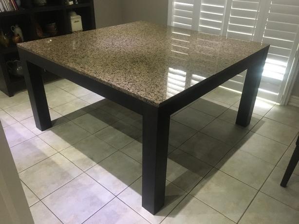 Granite kitchen/dining table