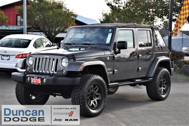 Used 2018 Jeep Wrangler JK Unlimited Sahara *SUPER CHARGED* SUV