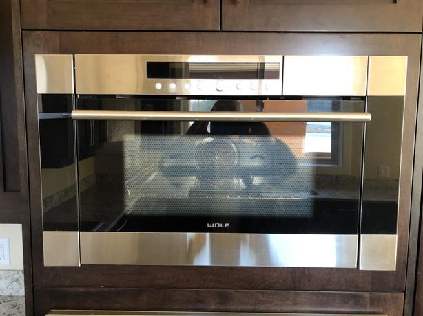"Wolf 24"" Convection Steam Oven"