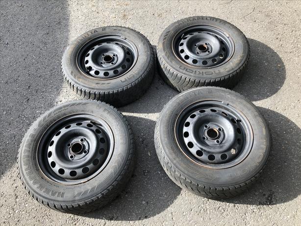 Nokian tires on 4x100 rims - 185/70R14