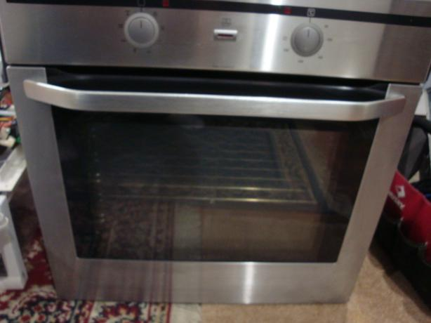 """Stainless Steel 24"""" apartment size wall oven ,convection oven ,"""