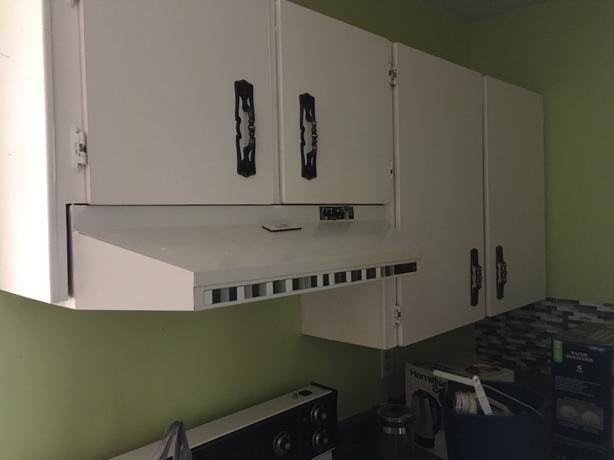 FREE: Kitchen cabinets and stove