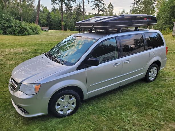 2012 Dodge Grand Caravan with or without roof tent