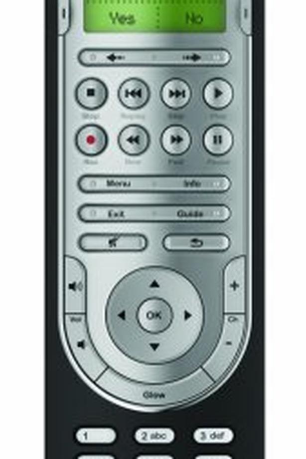New Logitech advance universal remote control