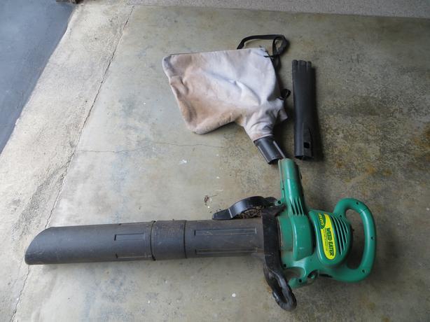 Yard blower/vacuum