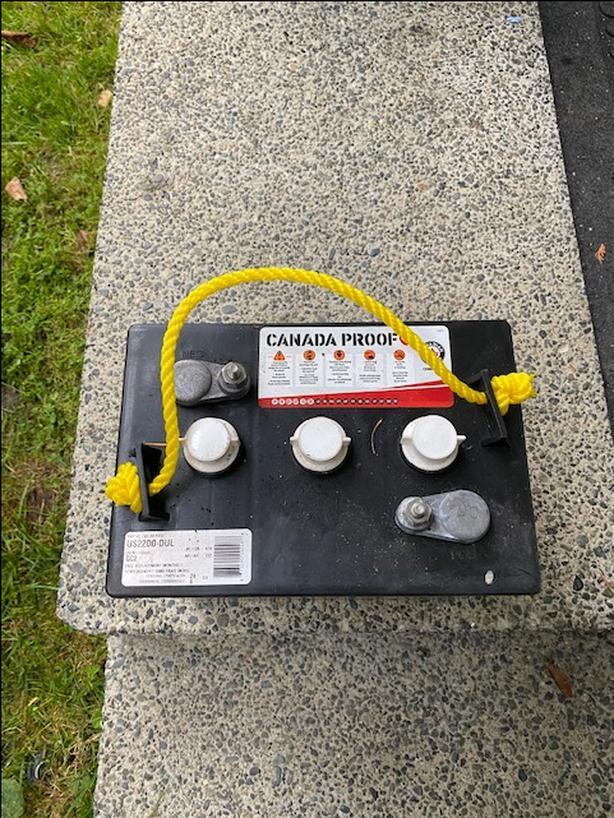 6 volt batteries