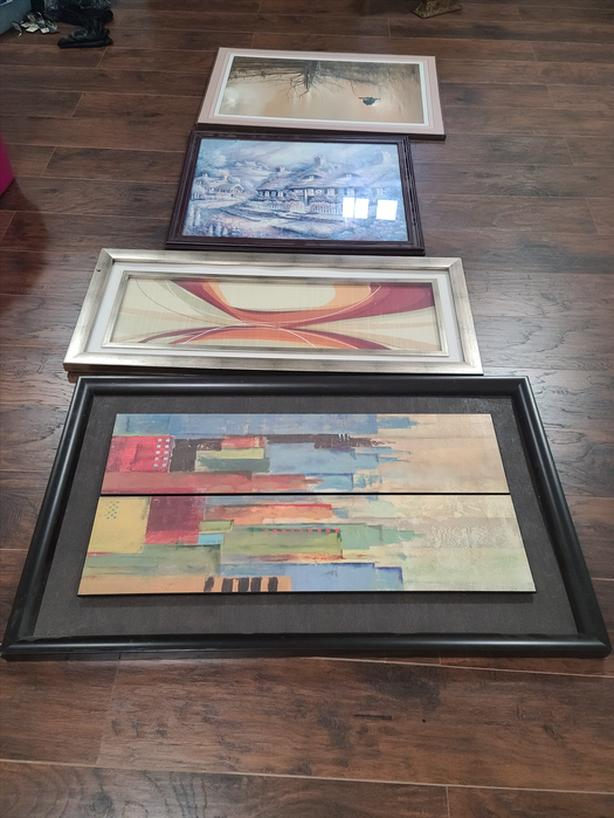 4 pieces of art work. $50 for all 4 or $40 each.