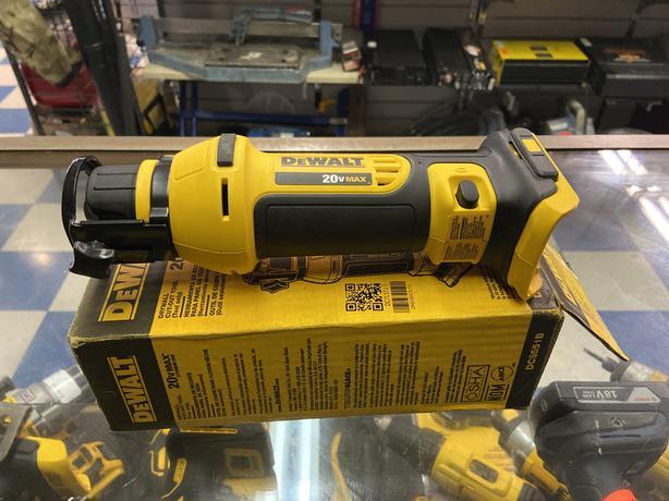 Dewalt 20v DCF620 cordless cutt out tool