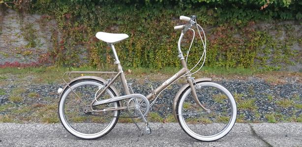 Vintage Raleigh Stoaway folding bicycle