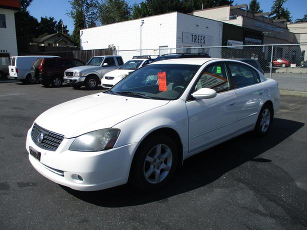 2005 NISSAN ALTIMA 4 CYLINDER AUTOMATIC