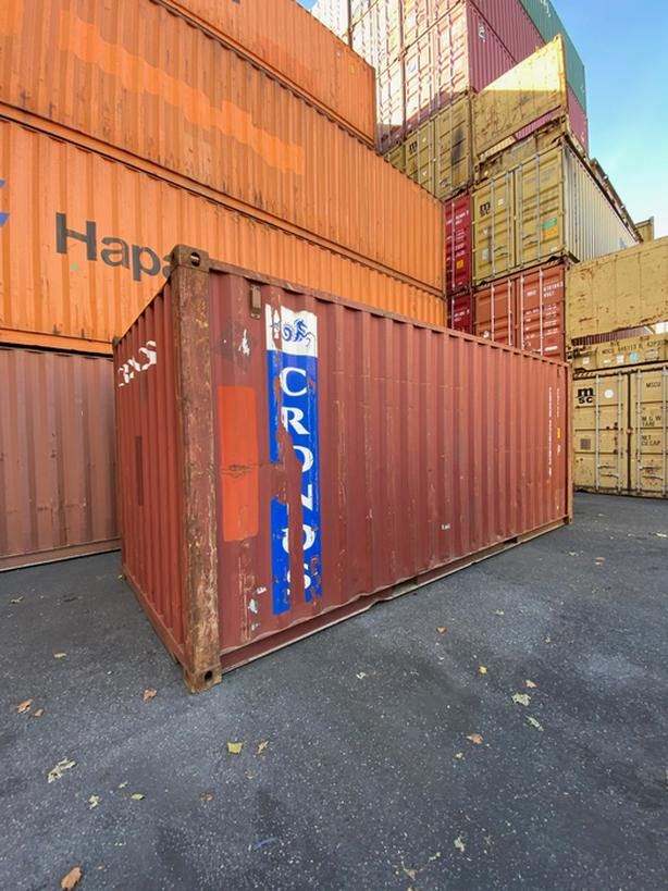 HONEYBOX - SIDNEY- used 20' shipping container - CRXU324703